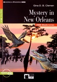 Gina D. B. Clemen - Mystery in New Orleans. 1 CD audio
