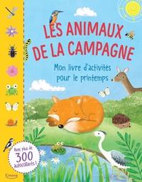 Gina Maldonado - Les animaux de la campagne - Mon livre d'activités pour le printemps.