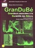 Ginette Arliguie et Hugues Hornain - GranDuBé - Grandeurs associées à la Durabilité des Bétons.