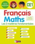 Ginette Grandcoin-Joly et Dominique Chaix - Français Maths CE1 - Ouvrage d'entraînement.