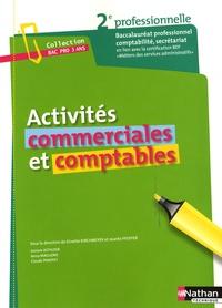 Activités commerciales et comptables- Seconde baccalauréat professionnel Comptabilité Secrétariat - Ginette Kirchmeyer pdf epub