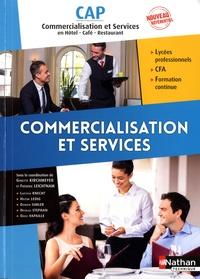 Commercialisation Et Services Cap En Hotel Livre Decitre