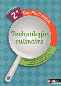 Technologie culinaire 2e bac pro cuisine ginette kirchmeyer fr d ric leichtnam decitre - Technologie cuisine bac pro ...