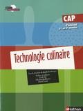 Ginette Kirchmeyer et Frédéric Leichtnam - Technologie culinaire CAP Cuisine 1e et 2e années.