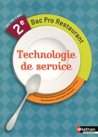 Technologie de service 2e Bac pro restaurant.pdf