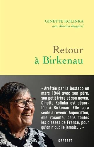 Retour à Birkenau - Ginette KolinkaMarion Ruggieri - Format ePub - 9782246820710 - 8,99 €