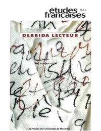 Ginette Michaud et Georges Leroux - Volume 38 numéro 1-2.