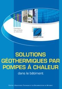 GINGER CATED - Solutions géothermiques par pompes à chaleur dans le bâtiment.