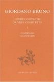 Giordano Bruno - Chandelier - Edition bilingue français-italien.