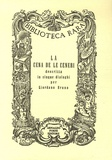 Giordano Bruno - La cena de le Ceneri.