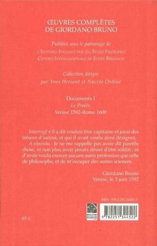 Oeuvres complètes. Tome 8, Documents 1 : Le procès