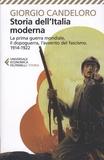 Giorgio Candeloro - Storia dell'Italia moderna - Volumo 8, La prima guerra mondiale, il dopoguerra, l'avvento del fascismo - 1914-1922.
