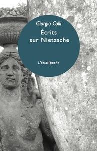 Ucareoutplacement.be Ecrits sur Nietzsche Image