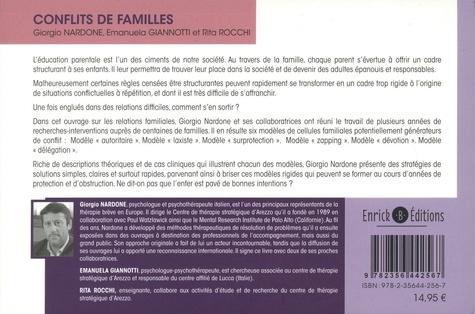 Conflits de famille. Comment sortir des impasses relationnelles entre parents et enfants