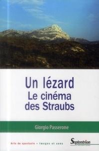 Giorgio Passerone - Un lézard - Le cinéma des Straubs.