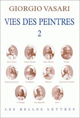 Giorgio Vasari - Vies des peintres - Tome 2.