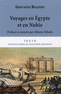 Giovanni Belzoni - Voyages en Egypte et en Nubie.