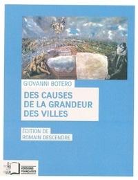 Deedr.fr Des causes de la grandeur des villes Image