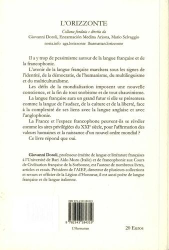 Défense et illustration de la langue française et de la francophonie