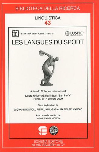 Giovanni Dotoli et Pierluigi Ligas - Les langues du sport.