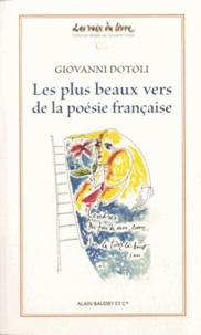 Giovanni Dotoli - Les plus beaux vers de la poésie française.