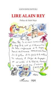 Giovanni Dotoli - Lire Alain Rey.