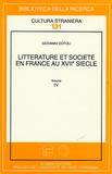 Giovanni Dotoli - Littérature et société en France au XVIIe siècle Volume 4.