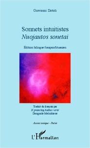 Giovanni Dotoli - Sonnets intuitistes - Edition bilingue français-lituanien.