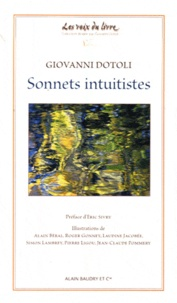 Giovanni Dotoli - Sonnets intuitistes.