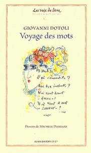 Giovanni Dotoli - Voyage des mots.