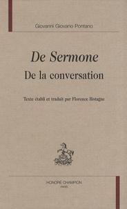 Giovanni Pontano - De Sermone - De la conversation.