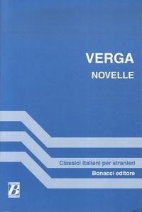 Giovanni Verga - Novelle.