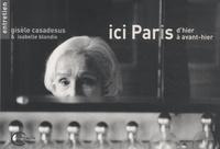 Gisèle Casadesus et Isabelle Blondie - Ici Paris d'hier à avant-hier.