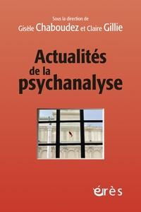 Gisèle Chaboudez et Claire Gillie - Actualités de la psychanalyse.