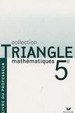 Gisèle Chapiron et Michel Mante - Mathématiques 5e Programme 2006 - Livre du professeur.