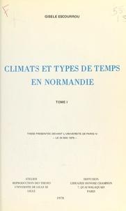 Gisèle Escourrou - Climats et types de temps en Normandie (1).
