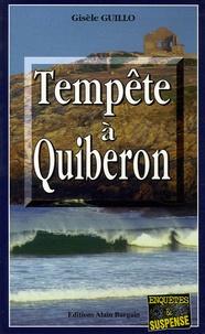 Gisèle Guillo - Tempête à Quiberon.