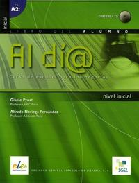 Gisèle Prost et Alfredo Noriega Fernandez - Al di@ nivel inicial - Curso de español para los negocios. 1 CD audio