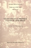 Gisèle Van de Vyver et Jacques Reisse - Les savants et la politique à la fin du XVIIIe siècle.
