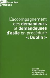 """GISTI - L'accompagnement des demandeurs et demandeuses d'asile en procédure """"Dublin""""."""