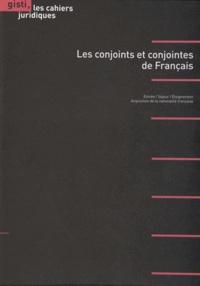 GISTI - Les conjoints et conjointes de Français.