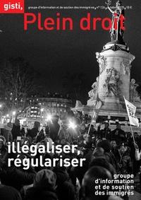 GISTI - Plein droit N° 126, octobre 2020 : Illégaliser, régulariser.