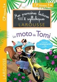 Giulia Levallois et Hélène Heffner - Premières Lectures 100 % syllabiques Larousse : La moto de Tomi.
