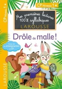 Giulia Levallois et Hélène Heffner - Premières lectures Larousse 100 % syllabiques - Drôle de malle !.