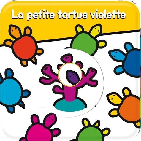 Giulia Olivares et Peggy Pâquerette - La petite tortue violette.