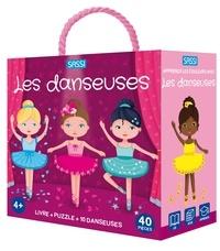 Giulia Pesavento et Matteo Gaule - Apprends les couleurs avec les danseuses - Avec 1 puzzle de 40 pièces, 10 danseuses prédécoupées.