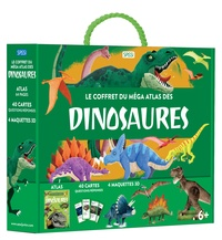 Giulia Pesavento et Nadia Fabris - Le coffret du méga atlas des dinosaures.