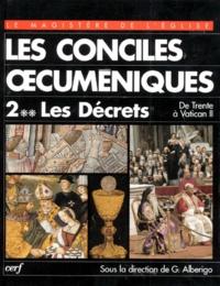 LES CONCILES OECUMENIQUES. Tome 2-2, Les décrets, De Trente à Vatican II, 1545-1965.pdf