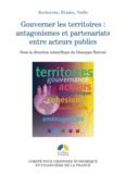 Giuseppe Bettoni - Gouverner les territoires : antagonismes et partenariats entre acteurs publics.