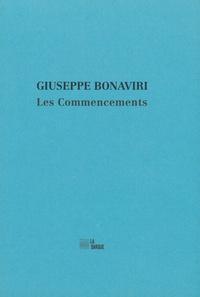 Giuseppe Bonaviri - Les commencements.